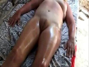 Massagem amador África buceta inchada - 3