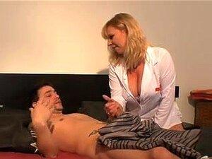 Sexo de Anal MILFs Checa, enfermeira mais velha,