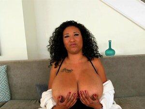 Big Naturals-Danni flaunts her huge tits