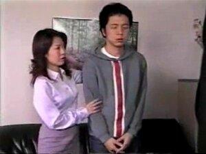 Japonês mãe e filho 039; s amigo 5