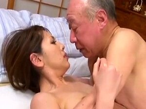 Velho jovem esposa japonesa