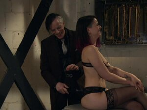 The best role for Freya French is a sex slave and