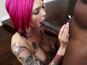 Doting punk with pierced nipples loves getting her
