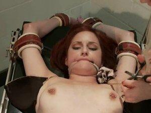 Redhead Phoenix Askani gets tortured in a hospital