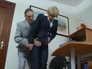 Granny Secretary Getting Fucked mature mature porn