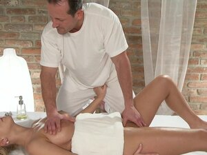 Massage Rooms Girls with big boobs are fucked hard