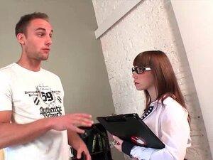 German tourist fucks Spanish hotel manager in