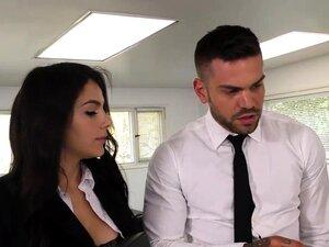 Black Immigration Officer Wants Valentina Nappi's