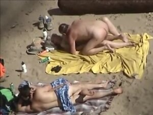 tre40 - two pair on beach, Two pair think they are