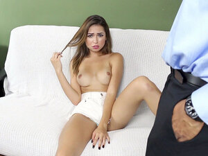 Melissa Moore seducing the real man to satisfy her
