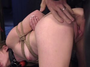 Shaved pussy petite trainee fucked