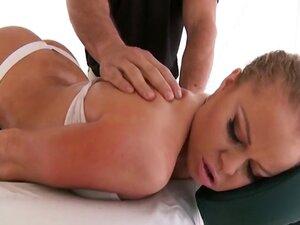 Sexy busty Nikki Delano massaged and hard fucked