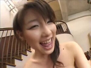Akane Sakura POV fuck on the couch