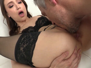 Colombian anal lover slut in sexy lingerie fucked