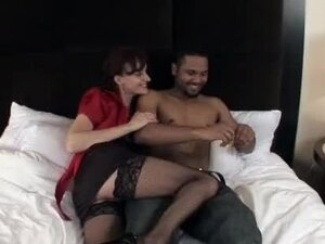 Insatiable Milf Gives Some Wild Interracial Sex To