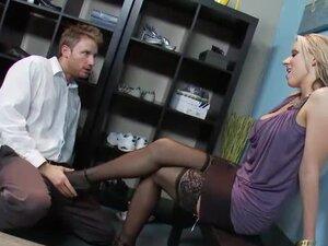 Perfect stockings girl hardcore sex