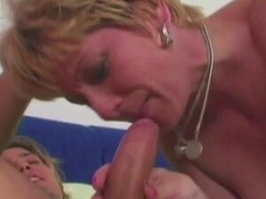 Granny Knows Exactly How Give A Cock Sucking