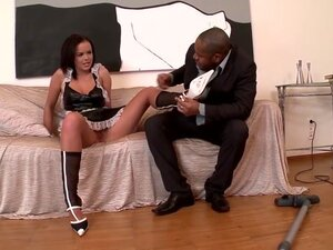 Fabulous pornstar Linet Slag in best foot fetish,