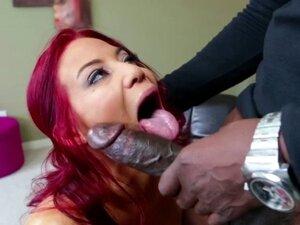 Redhead big tits Ryder gets hammered