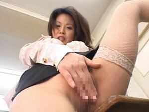Miki Sato Asian doll is a sweet teacher enjoying