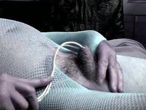 transvestite ts pantyhose nylon toy dildo urethral