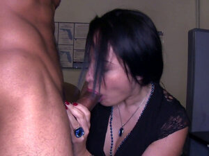 Spex office MILF pussyfucked during party