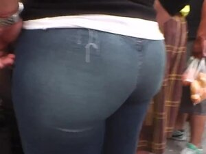 Beautiful Ass  Culote, Ass of the street mature