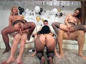 Phoenix Marie, Kristina Rose and Chanel Preston