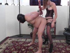 Mistress make me cry, Mistress fuck her slave to