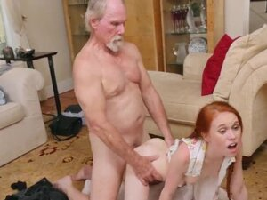 Old bald guy fucks and old teacher and