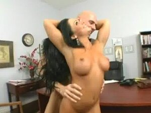 Cherokee and Johnny Sins Office Fuck
