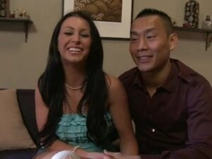 AMWF Jackie Daniels interracial with Oriental