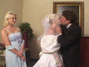 Lewd bride Missy Monroe gets double-teamed in