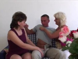 Mature sluts get pounded and suck cock during
