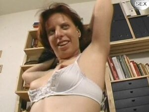 Mature German pussy spread wide