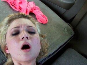 teen girl gets facial