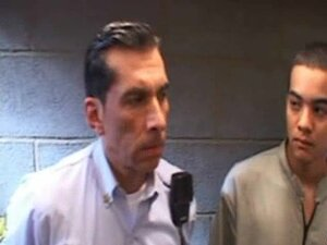 Juvenile latino prisoner barebacked by daddy