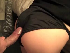 satin panty fuck