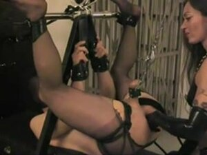 Sissy slave gets a fisting BDSM treatment,