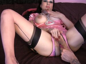 BREASTY satin mother I'd like to fuck JOI :