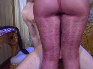 PantyhoseJobs Video: Bertie A and Rolf, Wearing