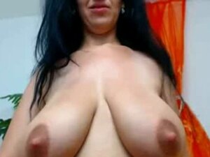 Natural lactating pair with great pink nips on