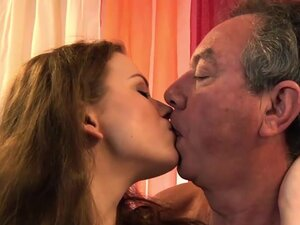 Old Young Grandpa Fucks Teen Babysitter Fingers