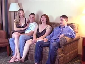 A fun get together turns into a partner swapping