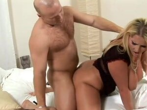 Laura Orsolya gets dick deep in her shaved hole