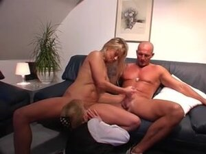 Pretty MILF rides on a younger cock real hard and