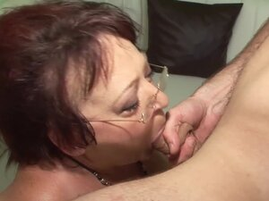 Husband Fuck old Cheating Wife after Creampie of