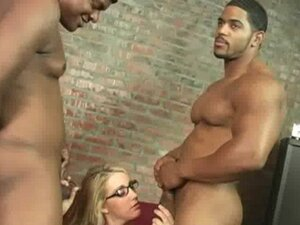 The Interracial Creampie Queen 22