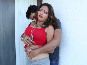 aunty with boyfriend,