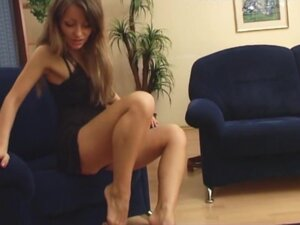 Under-Feet Video: Maya, While watering the flowers